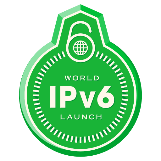 http://en.wikipedia.org/wiki/World_IPv6_Day_and_World_IPv6_Launch_Day#/media/File:World_IPv6_launch_badge.svg